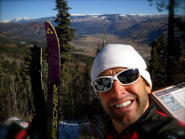 Skate Skiing Junction Creek; a spiritual refuge…