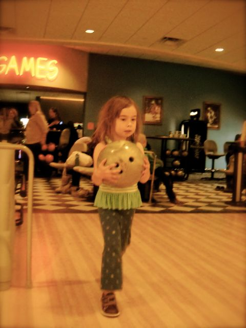 Dewa's First Day Bowling…and the Dharma rolls a perfect score…