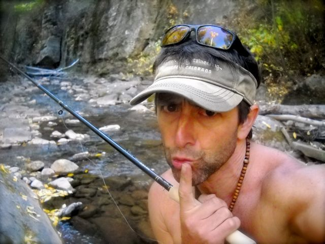 Wet Lines,  Empty Mind…a mountain yogi's funny fish tale…