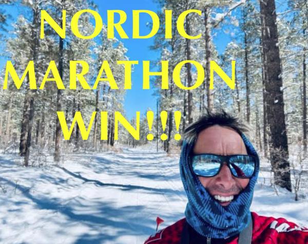 ilgVlog98:  A Nordic Marathon AG WIN!